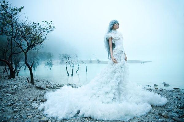 Immaculate Dream by Nicoline Patricia Malina, via Behance: Fashion Photo, Wedding Dressses, Ice Princesses, Nicolin Patricia, Color Pallett, Seats Belts, Patricia Malina, Dreams Dresses, White Gowns