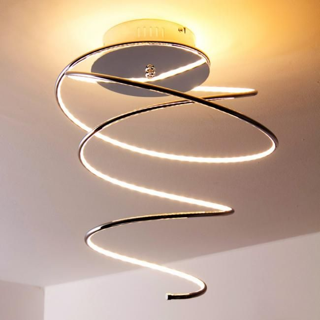 Lovely Globo REBEL Deckenleuchte Chrom Aluminium Design LED Fassung Globo REBEL Deckenleuchte schnell u sicher von Lampe de