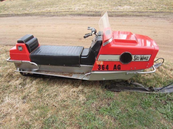 Snowmobiles For Sale >> Massey Fergunsion Ski Whiz Snowmobile - Online Auction Ending Monday, April 13, 2015 - Spencer ...