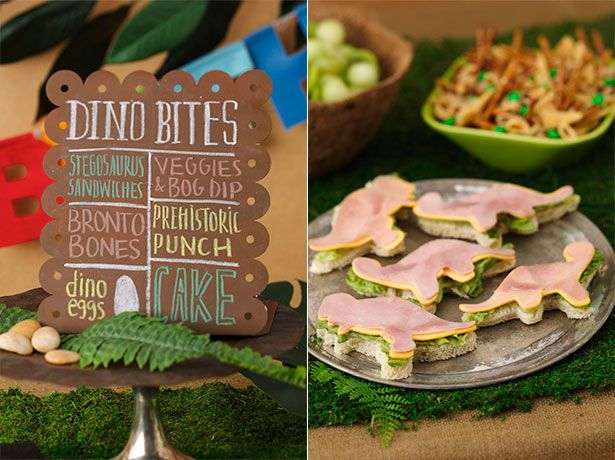 Best ideas about Dinosaur Party Foods on Pinterest  Dinosaur birthday ...