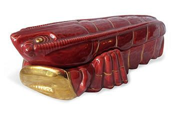 Majolica Lobster Tureen | Dinnerware | Pinterest ...