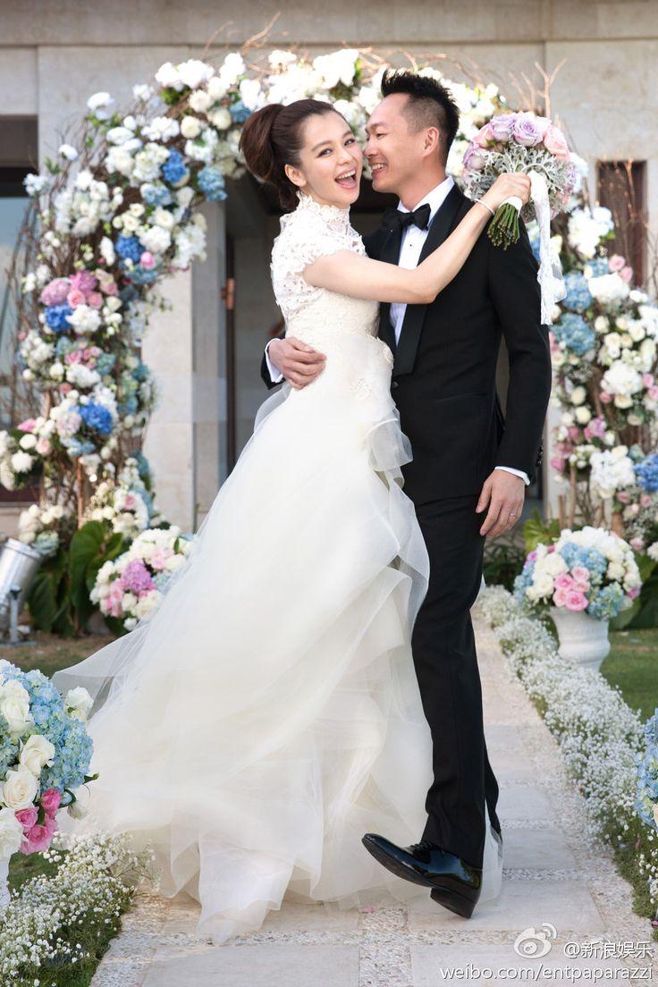 21 best Celebrity Weddings (Asian) images on Pinterest | Celebrity ...