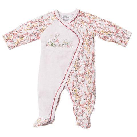 Bebe Layla XW14-788 Layla Multi Layla L-S Wrap Romper – Sweet Thing Baby & Childrens Wear #Winter #Cloth #Girl sweetthing.com.au