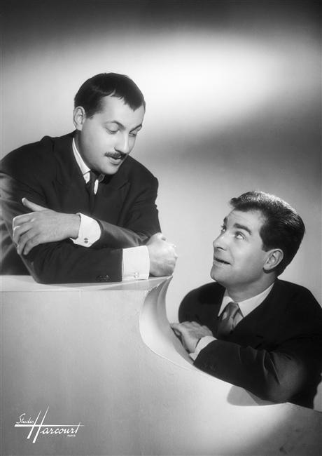 Michel SERRAUL et Jean POIRET