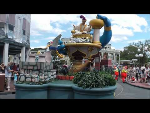 EPS parade float in Disney