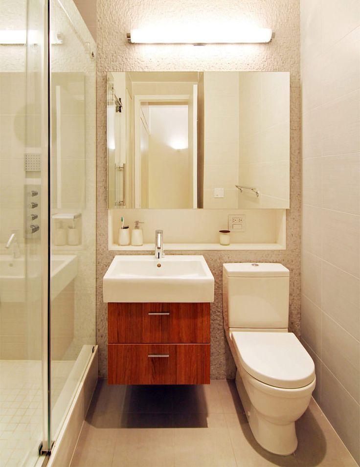 As 20 melhores ideias de banheiros pequenos no pinterest for Small bathroom design 6x6
