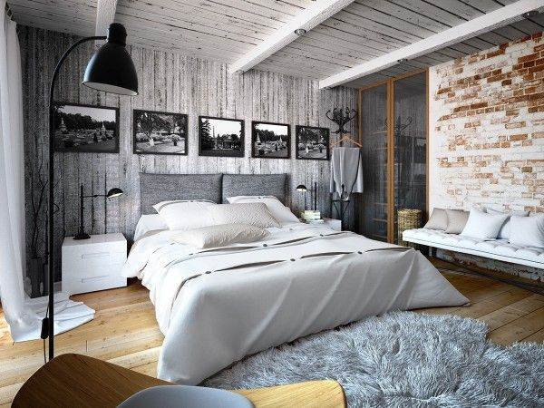Artsy Bedroom Design