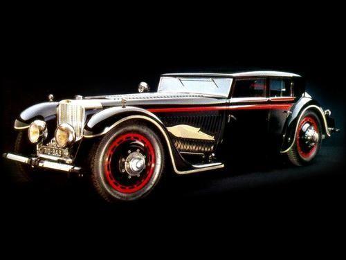 Saoutchik Bucciali TAV 8-32 V12 Berline 'Fleche d'Or' 1932