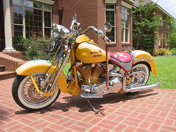 Harley Davidson Paint Colors   Harley Davidson Heritage Springer - MidAmerica Auctions