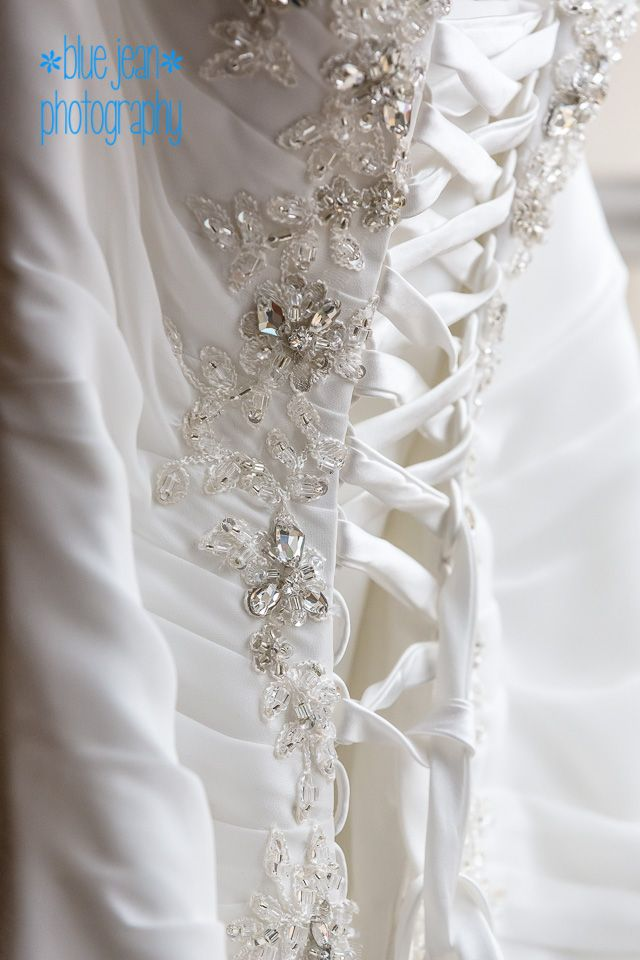 Wedding, dress, bride, white, crystals, lace, something new
