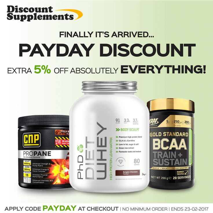 Use our payday DSICOUNT CODE today! All products! All brands! www.discount-supplements.co.uk #OptimumNutrition #USN #Grenade #CNP #SciMX #MaxiNutrition #protein #whey #fit #gym #health #nutrition #supplements