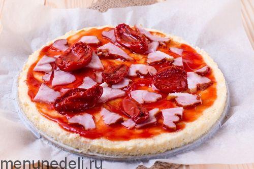 Рецепт пиццы из цветной капусты / Меню недели