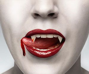 You don't have to hail from Bon Temps to look like one of their impossibly good looking immortals. The True Blood vampire fangs are the professional grade...