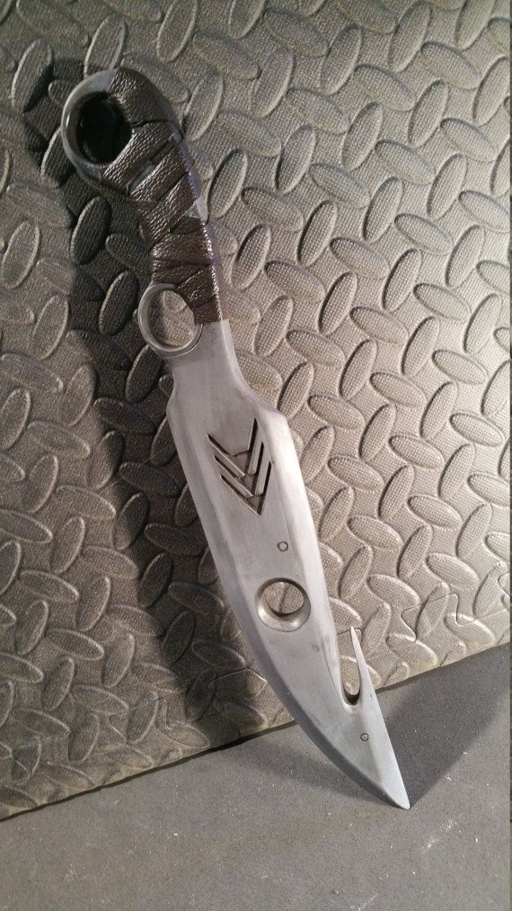 Destiny Hunter Knife Choice of Raw or Finished by FancyladProps