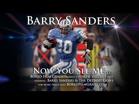 Barry Sanders - Now You See Me