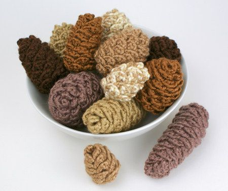 Planet June Crochet pinecones
