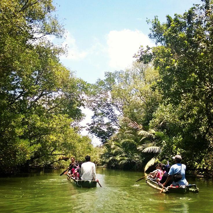 """Kanoing at Cigenter River"" - Photos taken with Nokia Lumia 920 using Instagram app"