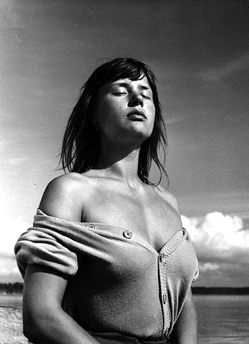 Warmth. Harriet Andersson, Summer with Monica, 1953 (Ingmar Bergman).