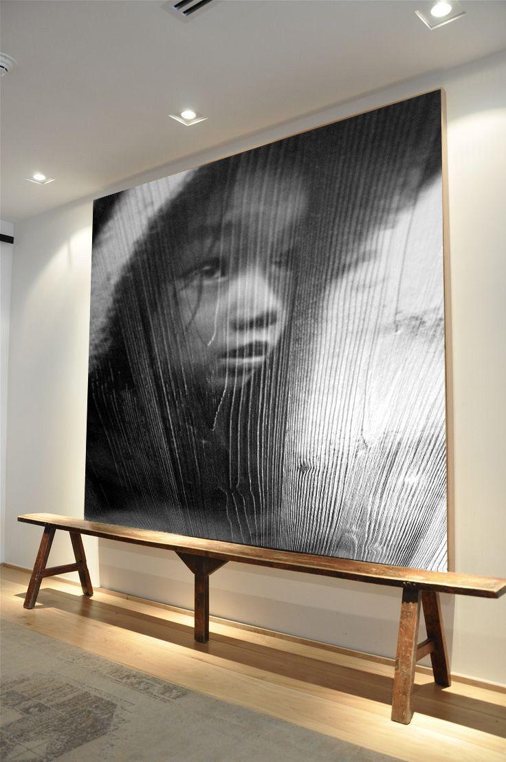 Vees – noble art, Murals on wood, design, interior design