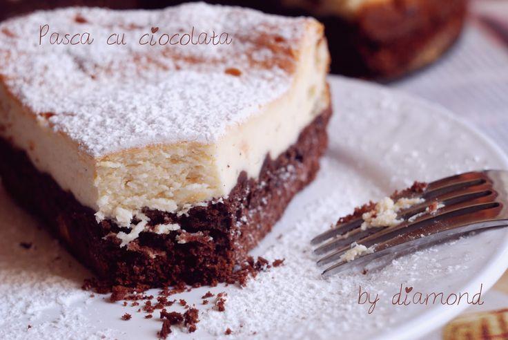 Diamond Cuisine!: Pasca cu branza dulce si ciocolata