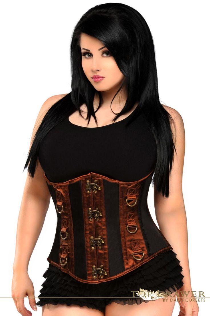 the 25+ best plus size underbust corset ideas on pinterest | plus