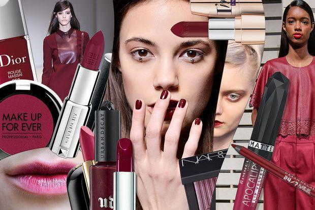 Trucco colore sangria: la tinta pantone autunno/inverno 2014-15 - Grazia.it