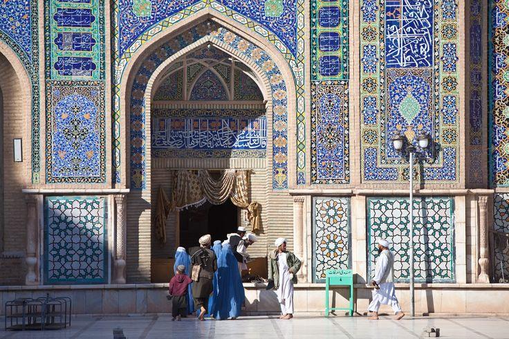 La lengua árabe - Inscripciones en la mezquita del viernes de Herat (Afganistán) - Marius Arnesen (2009)