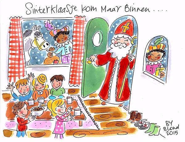 Sinterklaasje kom maar binnen...- Blond Amsterdam