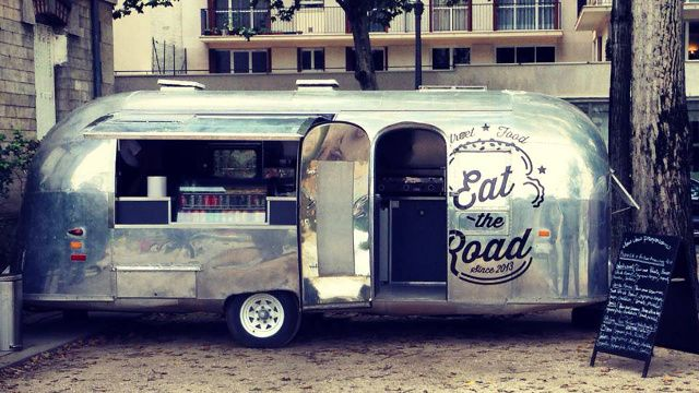Caravane Airstream à louer : food truck Eat the Road