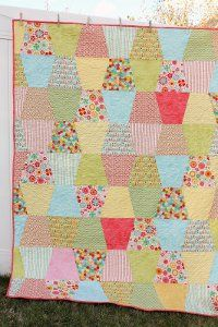 Totally Cute Tumbler Quilt   FaveQuilts.com