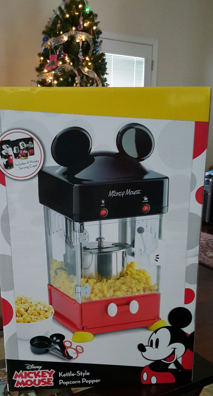 Disney Discovery- Mickey Mouse Popcorn Maker