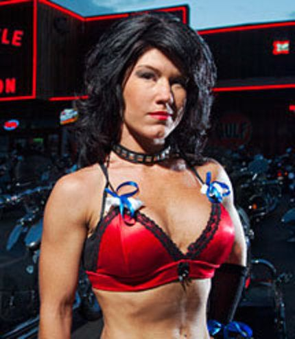 Simply matchless Angie from full throttle saloon nudes usual