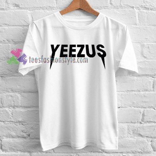 Kanye West Yeezus T-Shirt gift Adult Unisex custom clothing Size S-3XL //Price: $11.99  //