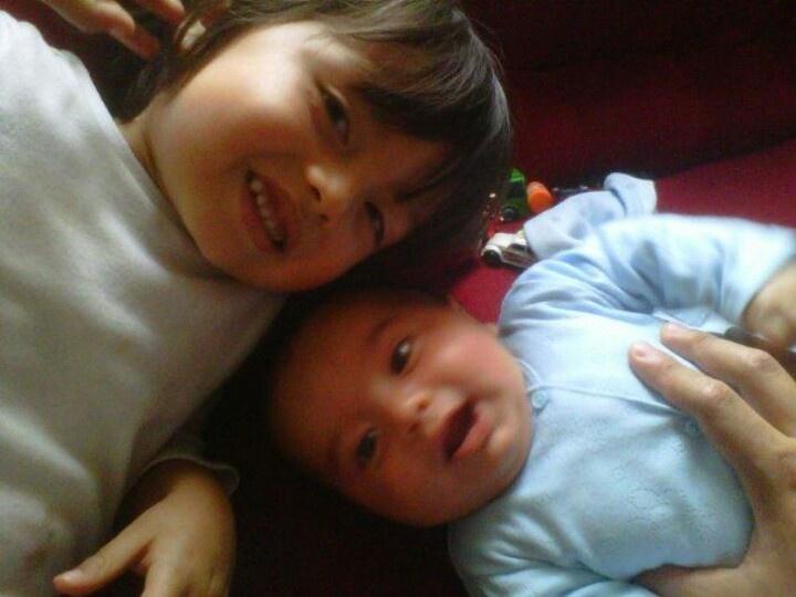 Mi hijito y mi sobrinito