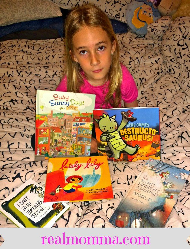 Family Friendly Spring Reading with Raincoast Books