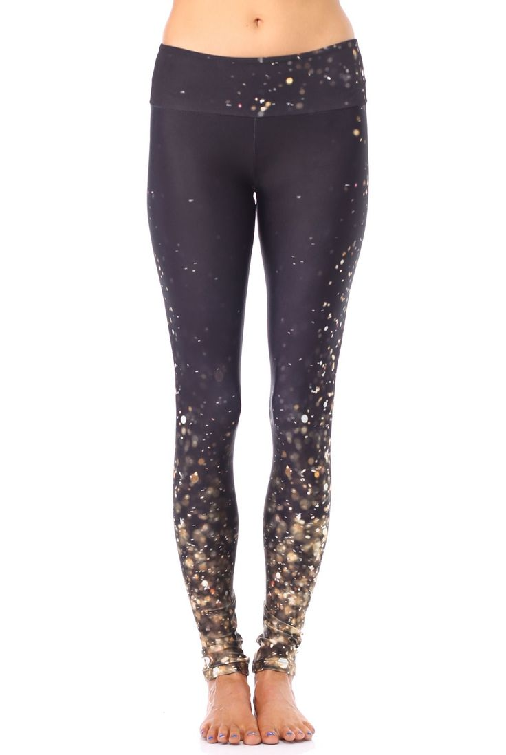 Goldsheep Clothing-Falling Gold Lights Legging