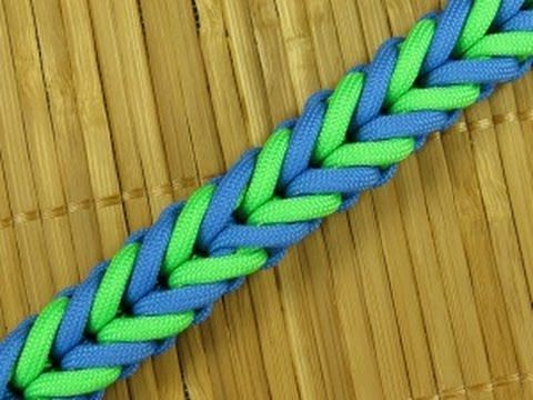 How to make a Symmetry Bar Paracord Sinnet (Paracord 101)