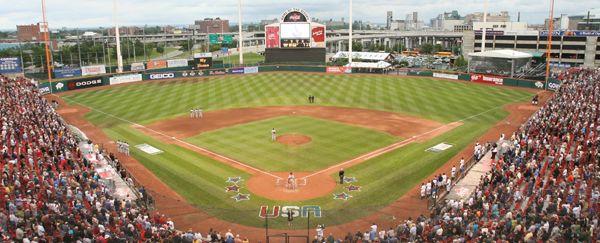 Buffalo Bisons #Baseball Team. AAA minor league baseball team playing in Buffalo, New York at Coca-Cola Field. Affiliate of the #MLB Toronto Blue Jays