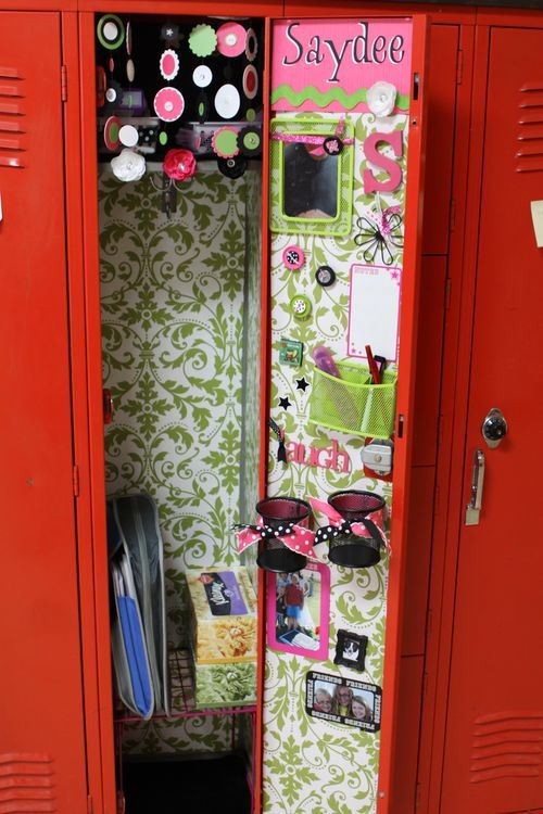 I want my locker like this next year!