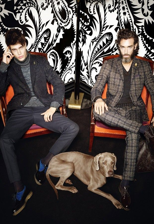 Sam Steele and Richard Biedul for Etro FW15