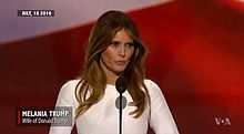 File:Melania Trump's plagiarised speech compared with Michelle Obama's.webm