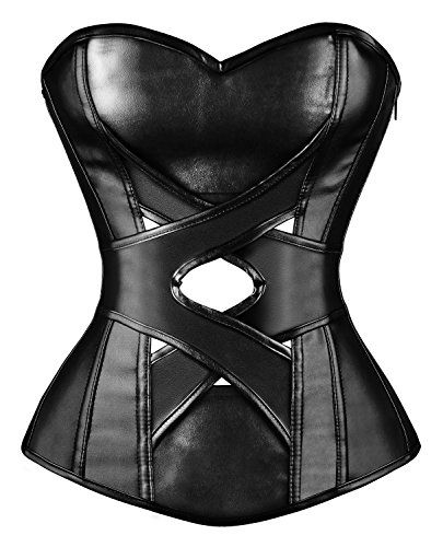Kimring® Women's Steampunk Gothic Retro Faux Leather Zipp... https://www.amazon.com/dp/B00PAUCAXK/ref=cm_sw_r_pi_dp_1cbJxb08TA6GQ