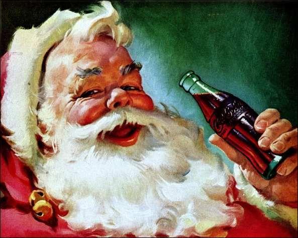 Père Cola ou Coca Noël
