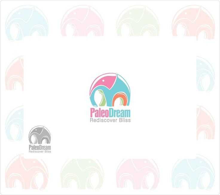 logo for paleo dream ice cream