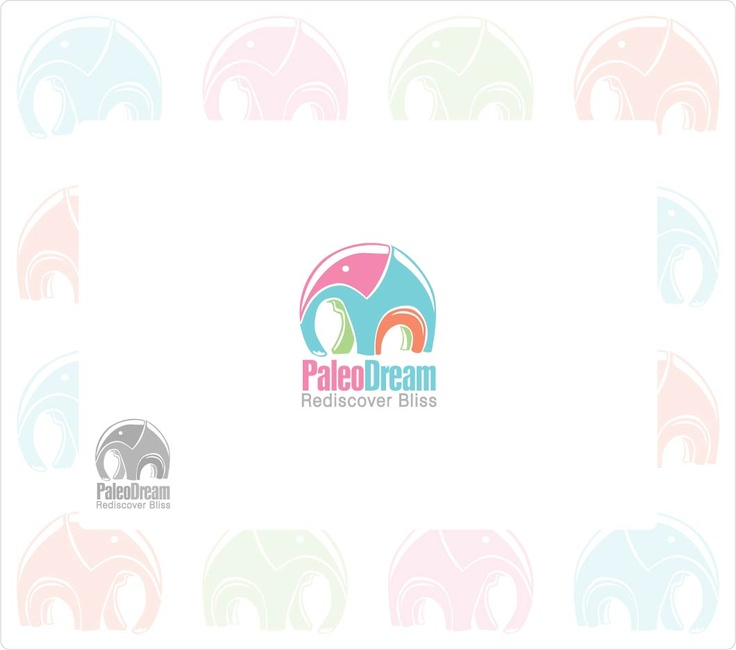 logo for paleo dream ice cream