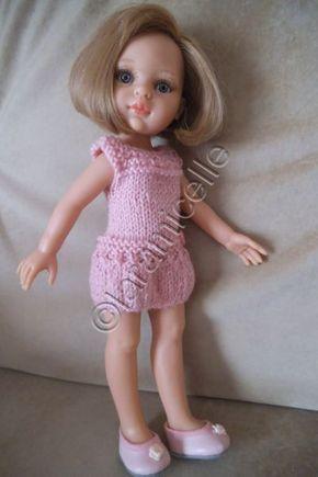 tuto tricot gratuit paola reina: robe taille basse