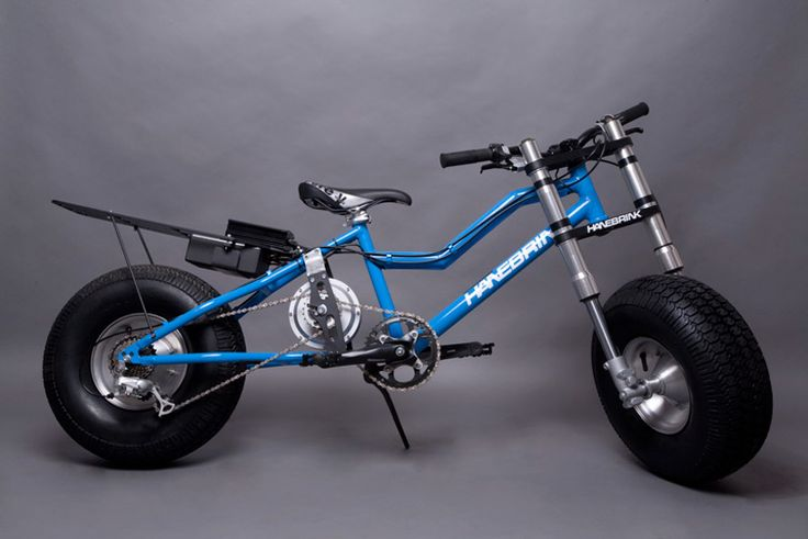 hanebrink all terrain bike | designboom