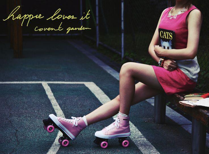 happie loves it 2014ss  pink linen dress