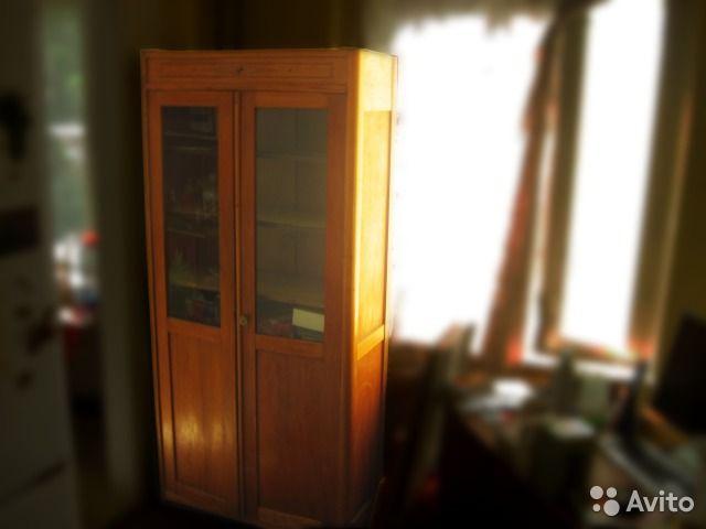 Книжный шкаф (советский винтаж 60-х)