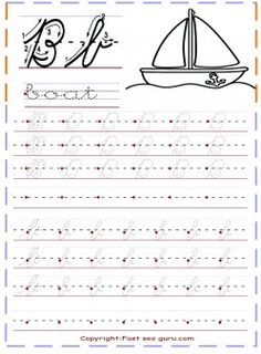 print out cursive handwriting practice sheets letter b for home schooling. Black Bedroom Furniture Sets. Home Design Ideas